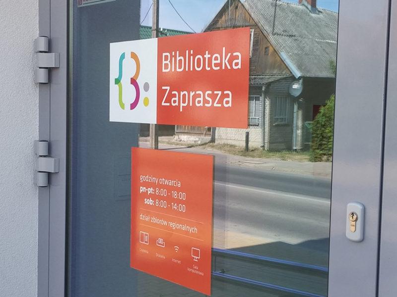 Oznakowanie biblioteki